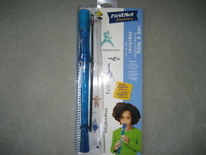 BRAND NEW - FIRST ACT DISCOVERY LEARN & PLAY RECORDER