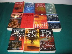 Tami Hoag books $1 each