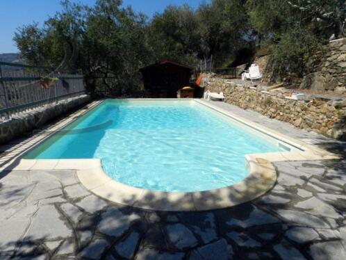 Ligurie vakantiewoning voor 7 personen met prive zwembad for Prive zwembad afhuren voor 2 personen