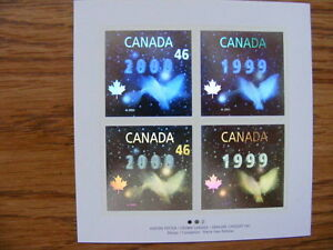 "FS: 1999 Canada Post (Crown Canada) ""2000 Millennium"" 3-D Hologr London Ontario image 1"