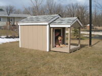 Dog Houses, Cat House, Fully insulated quality built.