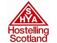 Seasonal Hostel Manager - Pitlochry YH