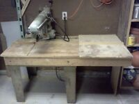Antique DeWalt industrial Radial Arm Saw