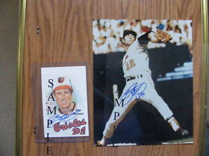 "FS: Baltimore Orioles ""Autographed"" Photos/Items"