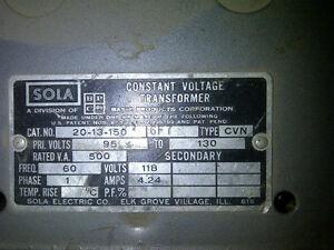 Constant Voltage Transformer Kitchener / Waterloo Kitchener Area image 2