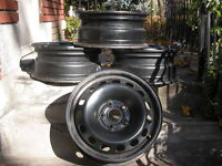 4 - 16 inch Original Equipment Audi / Volks Rims
