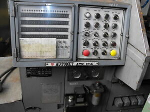 Auto turret machine cap 1.250 hydraulic control CLOSING Down