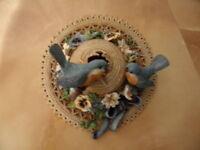 Collector Plate Bluebird Bungalow