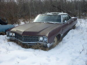 1967 BUICK WILDCAT 4 DOOR HARD TOP