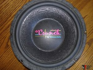 CRUNCH HIGH PERFORMANCE WOOFERS