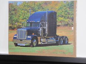 Posters plastifiés    Camion tracteur