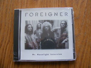"FS: Foreigner ""Mr. Moonlight Interview"" Compact Disc"