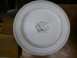 3 China Plates