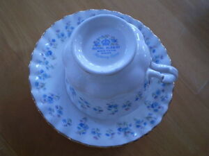 VINTAGE CUP AND SAUCERS ADDERLEY, ROYAL ALBERT Windsor Region Ontario image 4