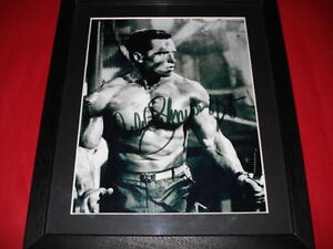 ARNOLD-SCHWARZENEGGER-SIGNED-10X8-FRAMED-PHOTO-arnie