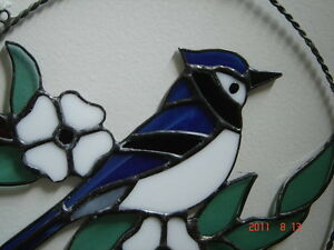 Stained glass Blue Jay ring Kingston Kingston Area image 3