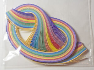3mm Quilling Papers Pearlised Colours (Approx 120 Strips)