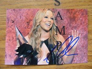 FS: Mariah Carey Autographed 4x6 Photos London Ontario image 2
