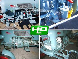 Ölfilter umbausatz Eicher Motor EDK Traktor EM 100 EM 295 Panther Leopard