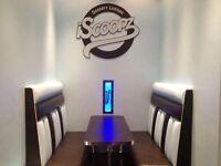 UPHOLSTERERS/ CONTRACT SEATING /BOOTH SEATING/RESTAURANT SEATING/AMERICAN DINER SEATING