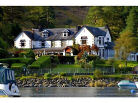 Bar & Waiting Staff Required (Live In - Loch Lomond)