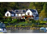 Bar & Waiting Staff Required (Live In - Loch Lomond)