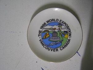 1986 World Exposition Ashtray