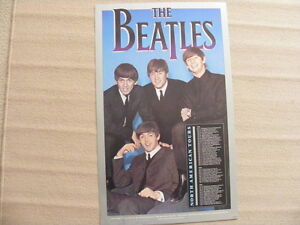 "FS: The Beatles ""North American Tour"" (with all dates) Poster"
