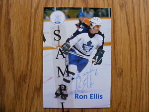 FS: Ron Ellis (Toronto Maple Leafs) Autographed Photos London Ontario image 1
