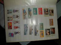 Verschiedene Briefmarken von verschiedenen länder............ Nordrhein-Westfalen - Herten Vorschau