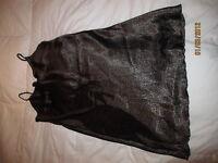 Robe de chambre et veste en Satin