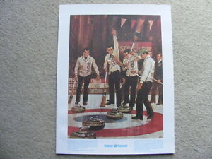 """FS: """"Regina Curling Club"""" 1972 The Prudential Collection Great M"""