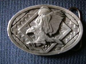 Bergamot Eagle Belt Buckle