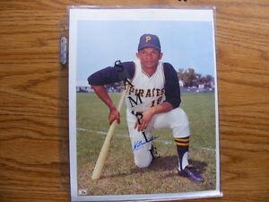 FS: Matty Alou (Pittsburgh Pirates) Autographed 8x10 Photo