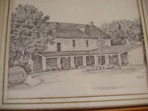 Ancaster Old Mill sketch Oakville / Halton Region Toronto (GTA) image 2