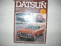 EARLY DATSUN MANUAL