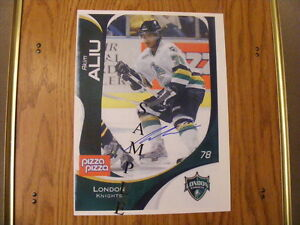 "FS: 2007-08 CHL (Canadian Hockey League) ""Autographed Photos London Ontario image 1"