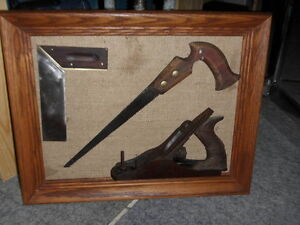 CLEARANCE Framed Vintage Tools $50.00 each +++++