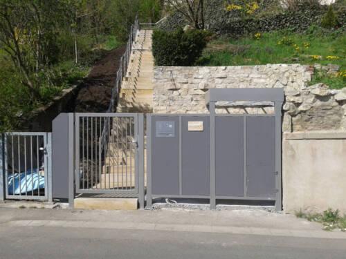 Tor Gelander Balkon Treppe Zaun Stahl Edelstahl Metall Schweissen In