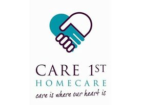 Become a care worker for Care 1st Homecare, We will train you (Full or Part-time)