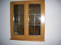 Holzfenster Fi-2-flg.mBleiverglasung B 98 x 111 cm ohne Fensterl. Bayern - Wurmsham Vorschau