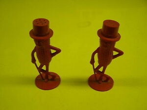 Vintage Mr. Peanut Salt and Pepper
