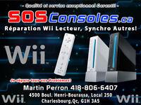 Réparation Wii , Lecteur , Pas D'image , Synchro et Autres!