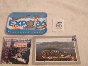 Expo '86 souvenir set