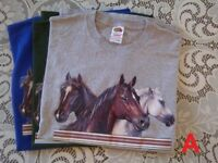 T - Shirts - Fruit of the Loom - horse designs