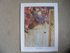 "FS: 1972 Lester Patrick NYR ""Great Moments"" (ENGLISH) Print London Ontario image 1"