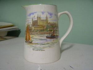 Vintage Lord Nelson Ware Pitcher