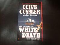Clive Cussler paperback novels