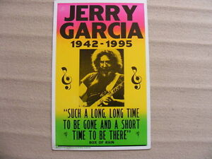 "FS: Jerry Garcia ""1942-1995 Such A Long, Long Time.."" Box Of Rai London Ontario image 1"