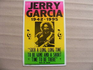 "FS: Jerry Garcia ""1942-1995 Such A Long, Long Time.."" Box Of Rai"